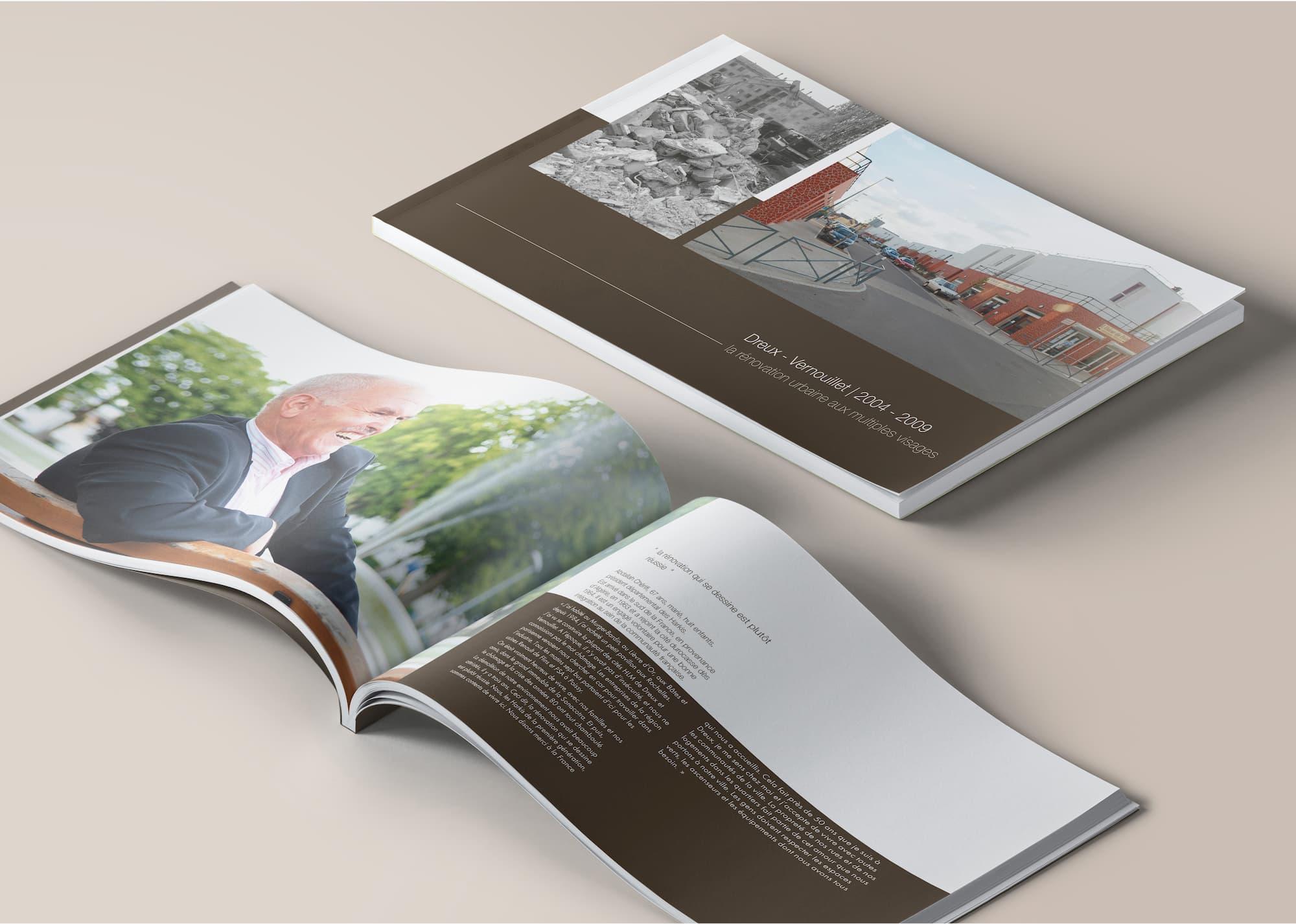 """Un livre d'image """"témoignage du passé"""" pour l'ANRU à Dreux"""
