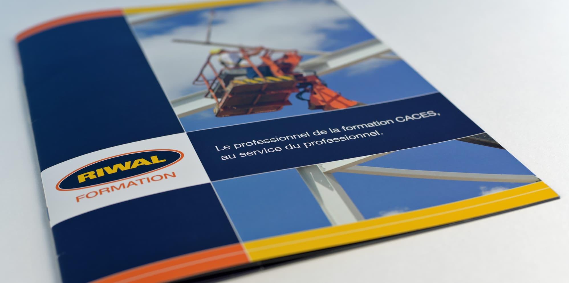 Conception d'un catalogue formation pour la société Riwal France