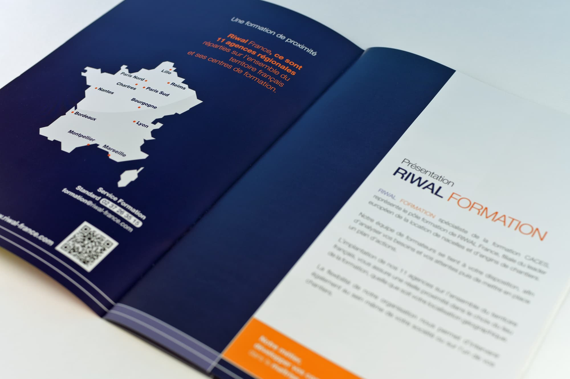 Riwal France confie à ComFX sa communication print
