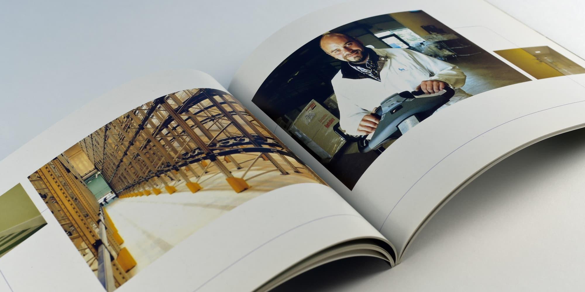Un livre d'entreprise comme cadeau client pour le laboratoire Novo Nordisk