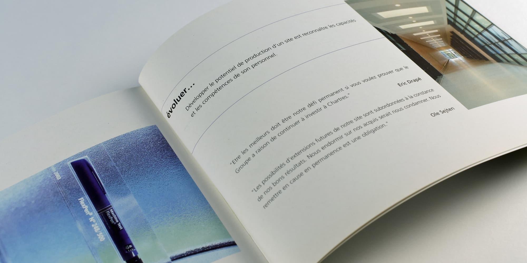Livre d'images pour Novo Nordisk, laboratoire pharmaceutique mondial