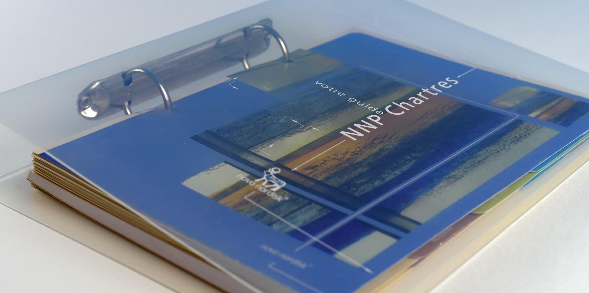 Mise en page et conception d'un livret d'accueil pour les salariés d'une entreprise