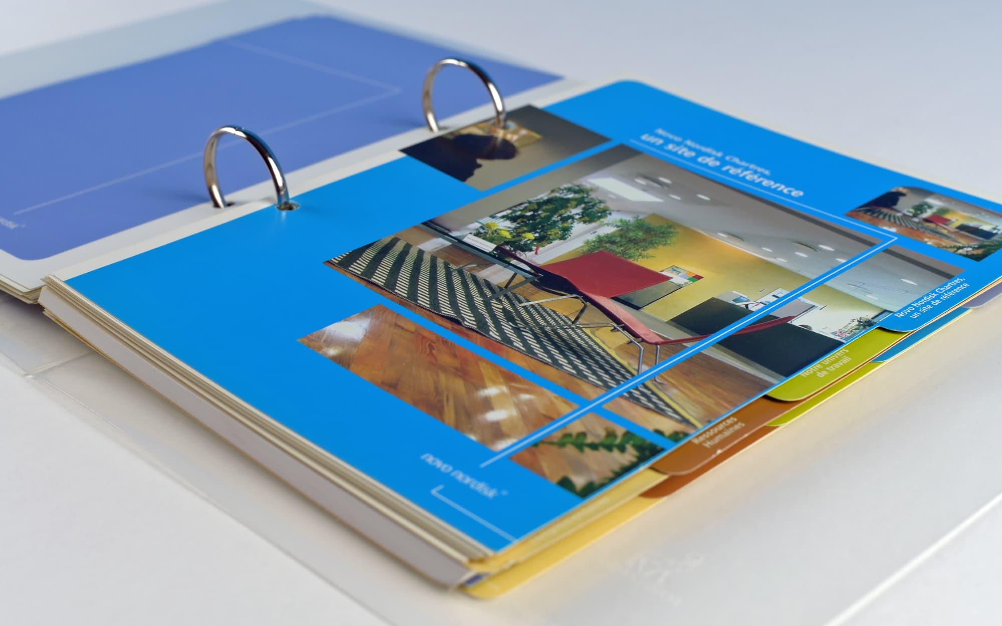 Conception et réalisation d'un livret d'accueil et de présentation de l'entreprise