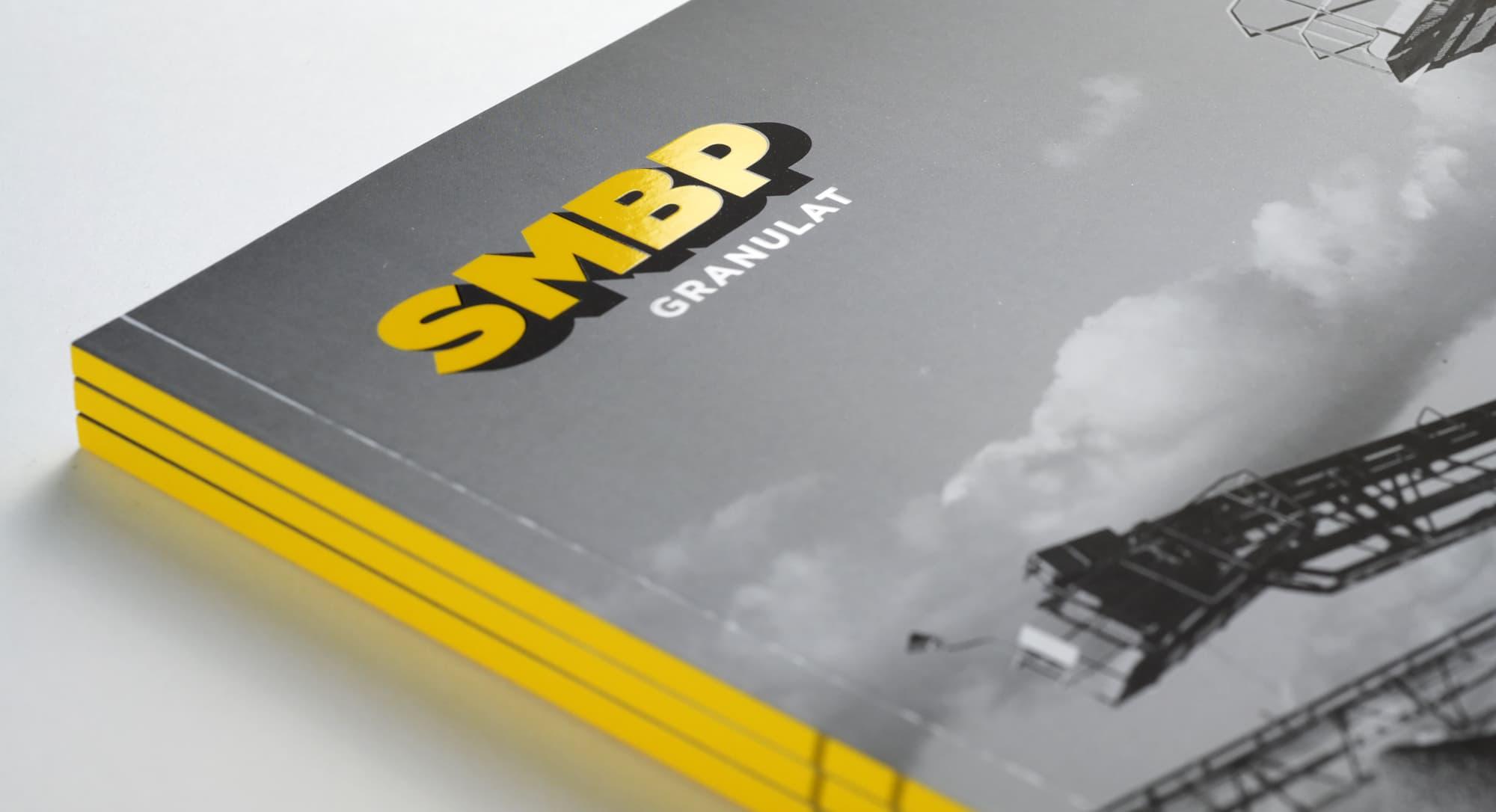 Conception d'un catalogue pour la société SMBP