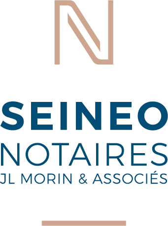 Création de logo pour l'étude de notaires SEINEO à Boulogne-Billancourt