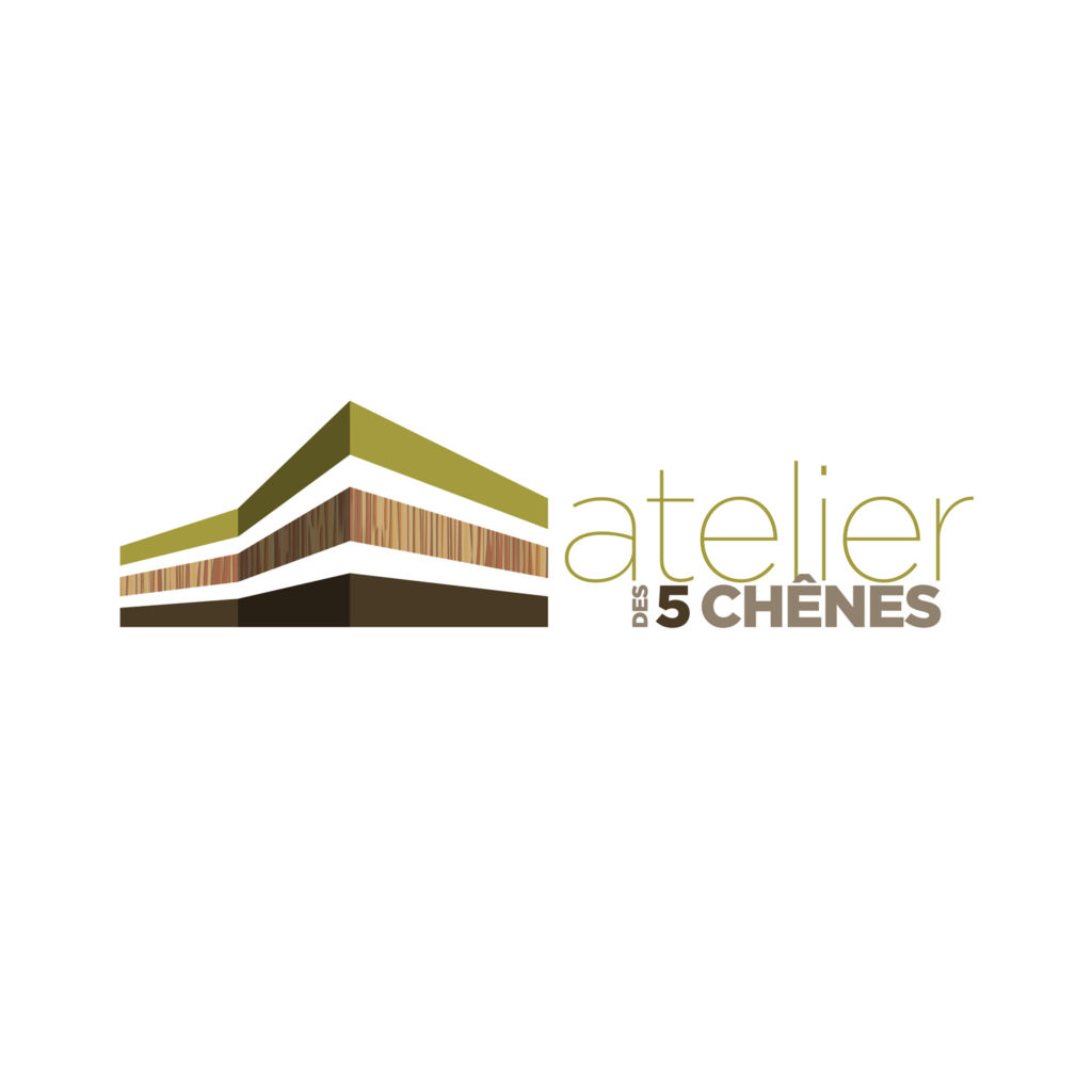 Logo Atelier des 5 chênes
