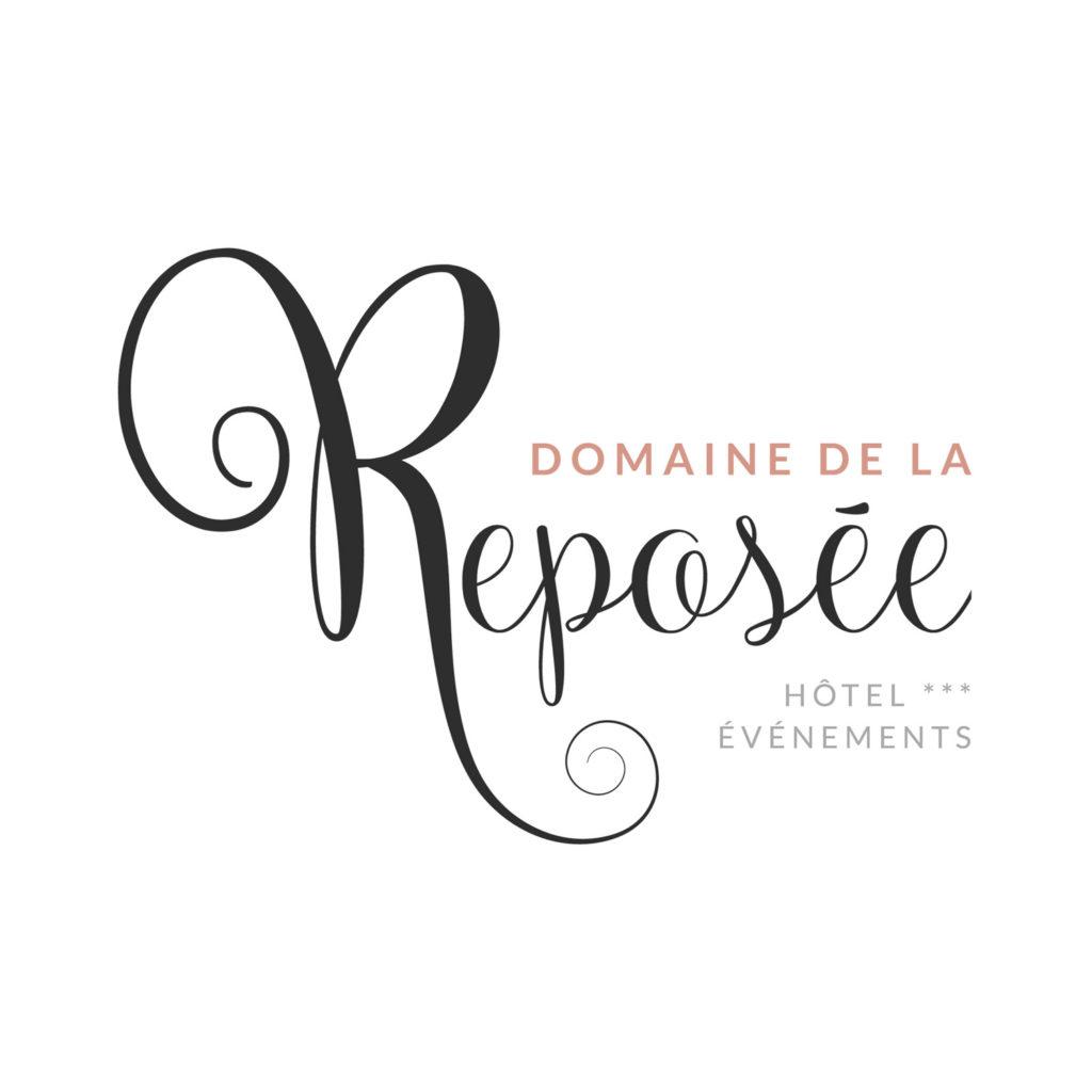 Logo Domaine de la Reposée - Hotels et événements