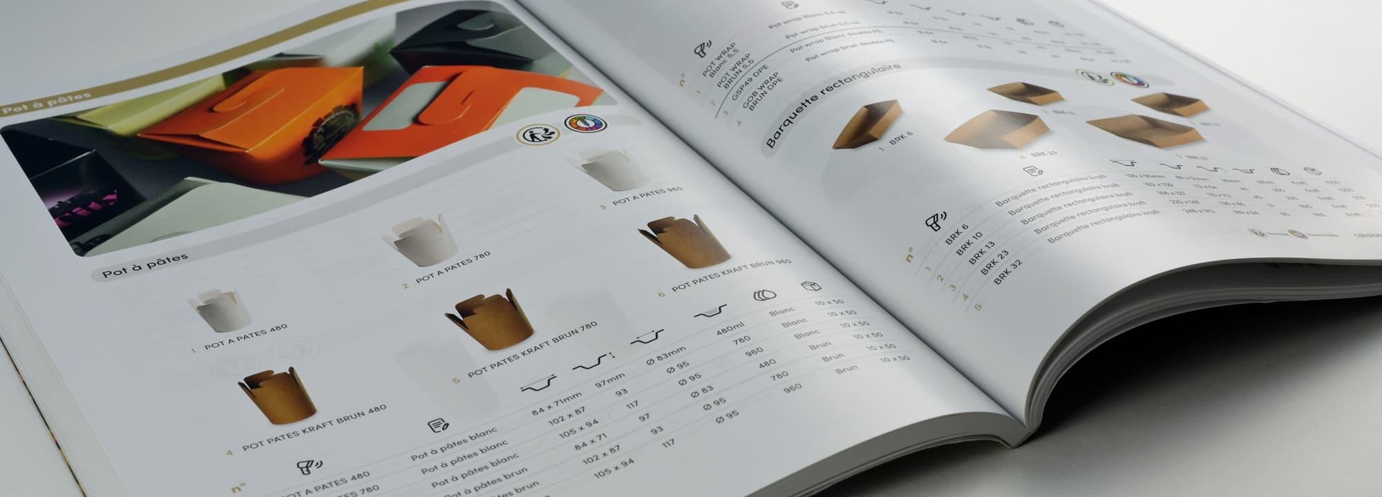 Reportage photo produits et conception d'un catalogue général de 200 pages