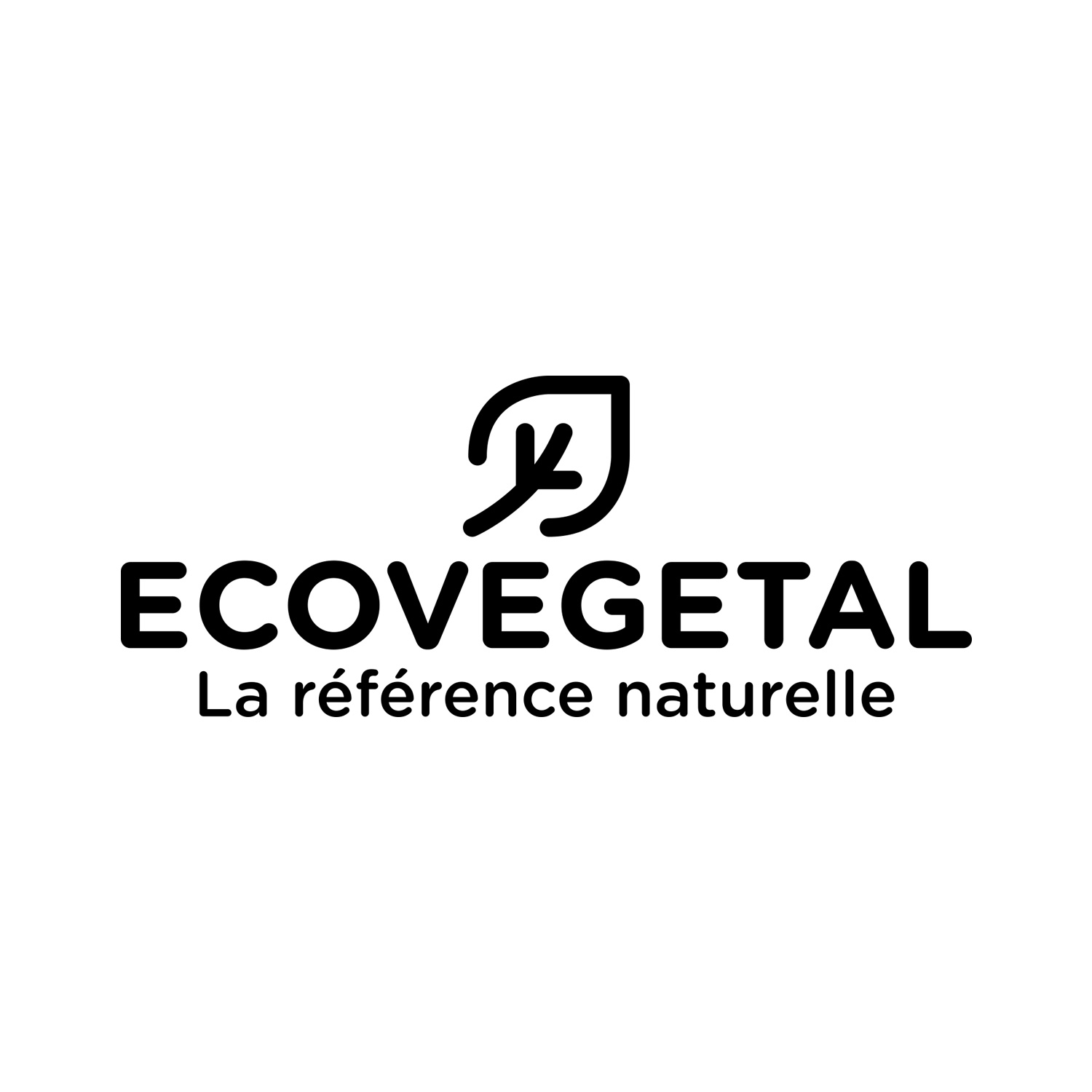 Logo Ecovegetal, la référence naturelle