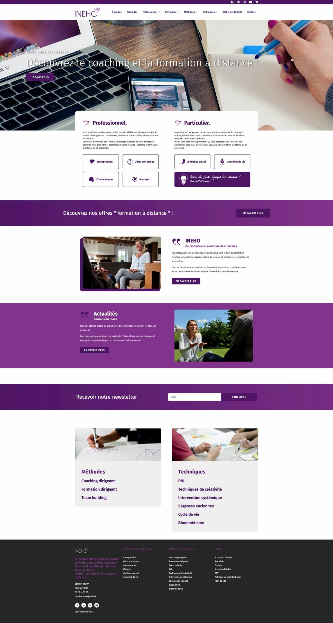 UX Design, création site web, boutique en ligne et optimisation SEO