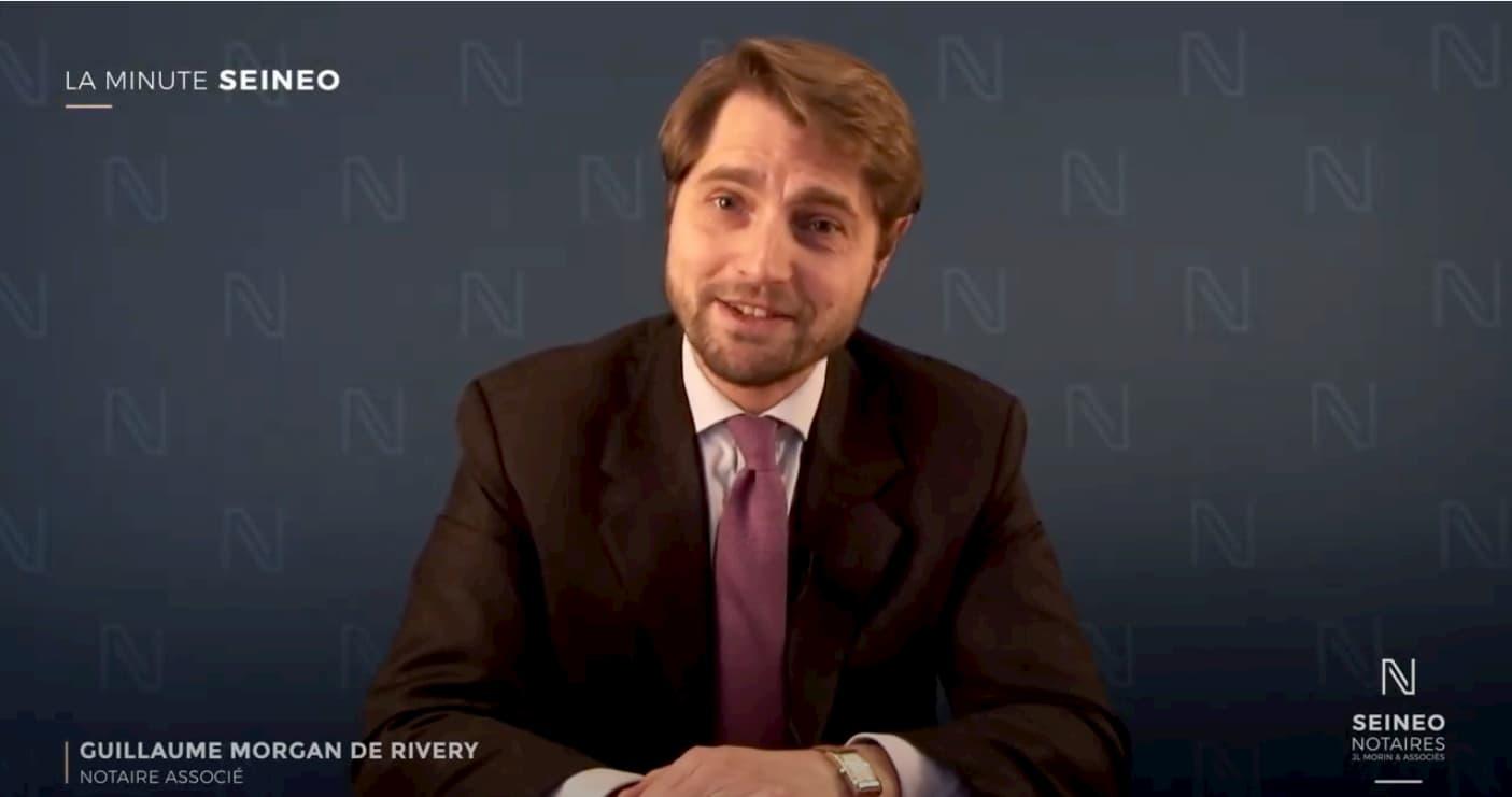 Prises de vue et montage de mini-vidéos thématiques SEINEO Notaires