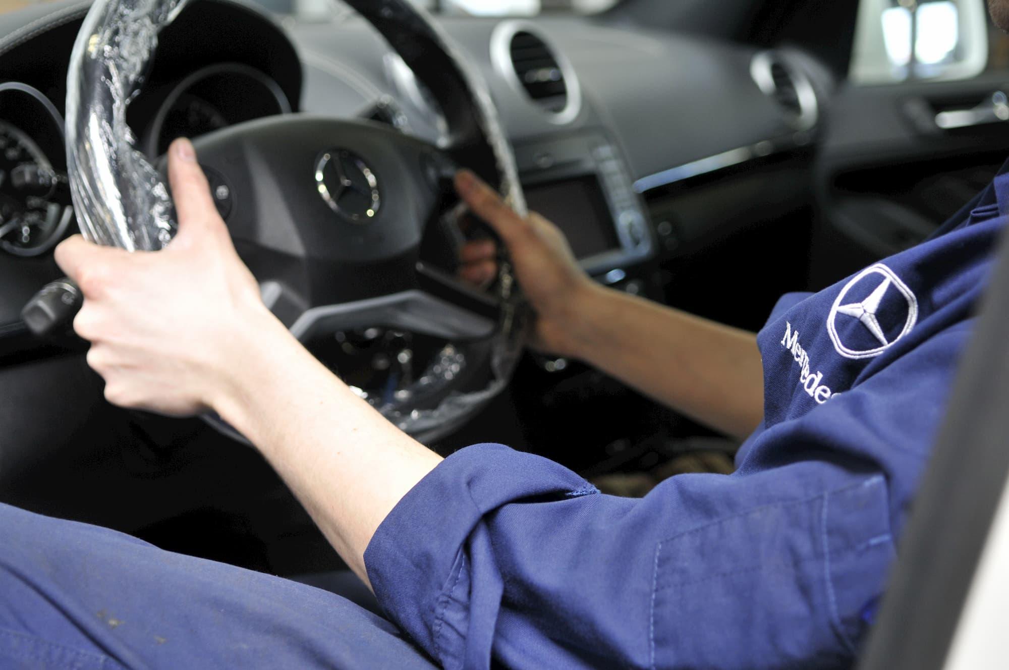 Reportage photos au sein de la concession Mercedes-Benz DAVIS à Dreux