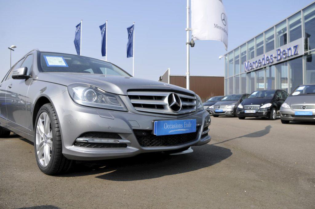 Réalisation d'images pour communiquer auprès des clients chez Mercedes-Benz
