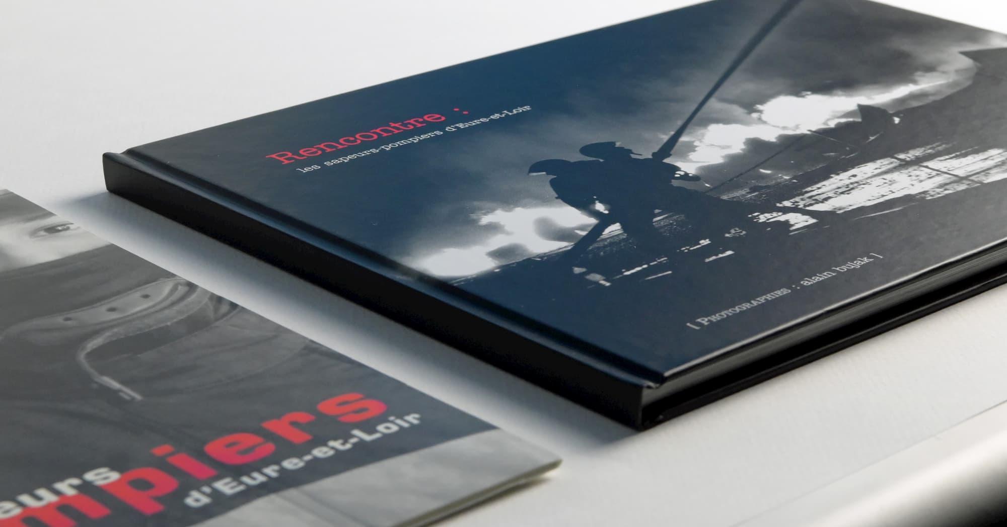 Edition d'un livre d'images pour le SDIS 28, sapeurs pompiers d'Eure-et-Loir