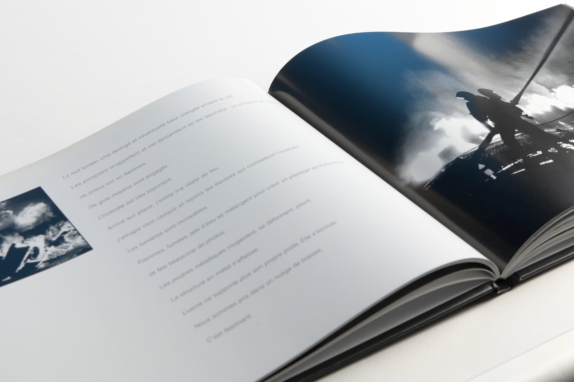 """Conception et mise en page d'un livre """"devenez sapeurs pompiers volontaire"""""""
